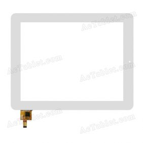 PB97DR8355 Digitizer Glass Touch Screen Replacement for 9.7 Inch MID Tablet PC