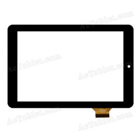 QSD E-0C07142-01 Digitizer Glass Touch Screen Replacement for 7 Inch MID Tablet PC