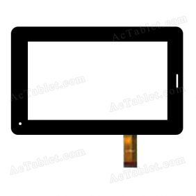 CS-CTP7032-A FPC JC Digitizer Glass Touch Screen Replacement for 7 Inch MID Tablet PC