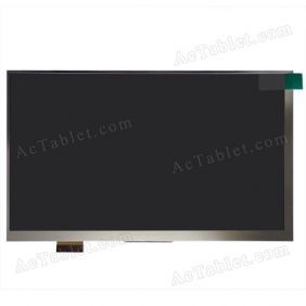 Replacement MFPCO70143V1 LCD Display Screen for 7 Inch Android Tablet PC