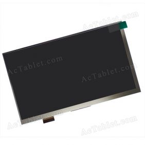 Replacement CPT7G30P-mipi-W-WJS LCD Display Screen for 7 Inch Android Tablet PC