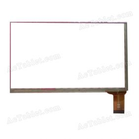 HD051C0 QX Digitizer Glass Touch Screen Replacement for 7 Inch MID Tablet PC