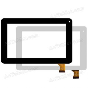 CZY6329X01-FPC 2013.01.10 MHS Digitizer Glass Touch Screen Replacement for 7 Inch Tablet PC