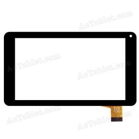 YTG-C70083-F1 V1.1 LLT Digitizer Glass Touch Screen Replacement for 7 Inch MID Tablet PC