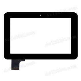 Replacement  HOTATOUCH C117187A1-DRFPC112T-V1.0 GSL5316(12*20) Touch Screen 7 Inch