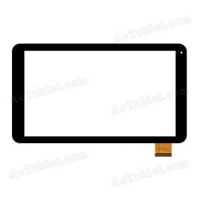 F-WGJ10163-V1 V2 V3 Digitizer Glass Touch Screen Replacement for 10.1 Inch MID Tablet PC