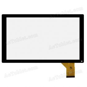 MF-765-101F FPC Digitizer Glass Touch Screen Replacement for 10.1 Inch MID Tablet PC