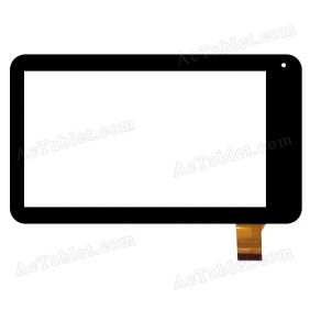 XD-12-12-08 Digitizer Glass Touch Screen Replacement for 7 Inch MID Tablet PC
