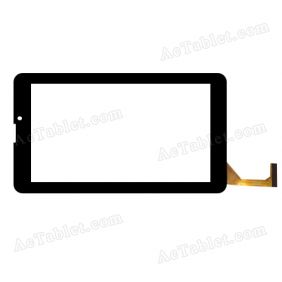 CTP070109 FPC_2.0 Digitizer Glass Touch Screen Replacement for 7 Inch MID Tablet PC