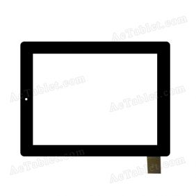 "HOTATOUCH C183236C1-GG FPC084T-V2.0 Digitizer Glass Touch Screen Replacement for 9.7"" Tablet"