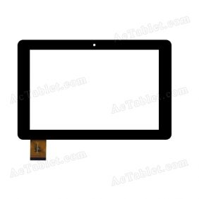NJG101040AGGLB-V0 Digitizer Glass Touch Screen Replacement for 10.1 Inch MID Tablet PC