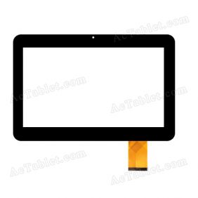 FX-C10.1-0076A-F-01 Digitizer Glass Touch Screen Replacement for 10.1 Inch MID Tablet PC
