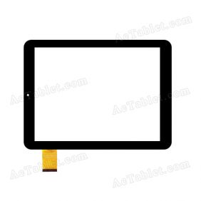 "Replacement DH-0909A1-FPC032-02 Rx14*Tx26 AP SR Digitizer Touch Screen for 9.7"" Tablet PC"