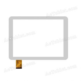 DH-0940A1-GG-FPC109-V2.0 Digitizer Glass Touch Screen Replacement for 9.7 Inch MID Tablet PC