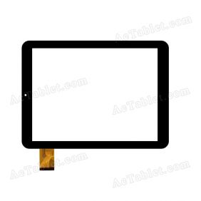 "Replacement JA DH-0940A1-GG-FPC109-V2.0 Rx14*Tx26 SR Digitizer Touch Screen for 9.7"" Tablet PC"
