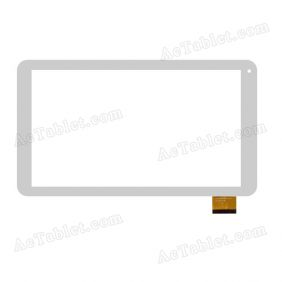 DH-1034A1-PG-FPC126 Digitizer Glass Touch Screen Replacement for 10.1 Inch MID Tablet PC