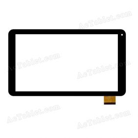 "Replacement DH-1034A1-PG-FPC126 OC (Rx16*Tx28) SR Digitizer Touch Screen for 10.1"" Tablet PC"
