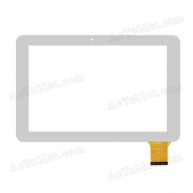YTG-G10037-F1 V1.0 V1.1 Digitizer Glass Touch Screen Replacement for 10.1 Inch Tablet PC