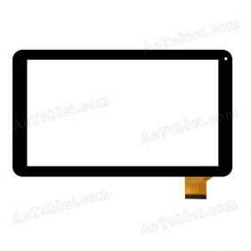 DH-1027A1-PG-FPC105 Digitizer Glass Touch Screen Replacement for 10.1 Inch Tablet PC