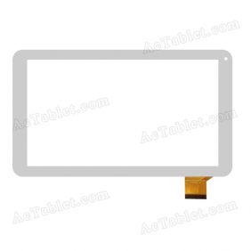 JA-DH-1027A1-PG-FPC105 Rx18*Tx27 Digitizer Touch Screen Replacement for 10.1 Inch Tablet PC