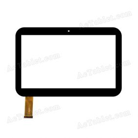 Replacement HN10001 Digitizer Touch Screen Panel for 10.1 Inch Tablet PC