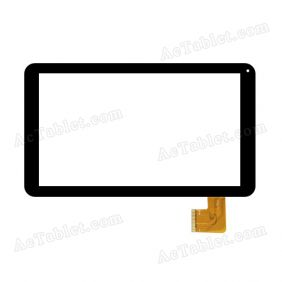 MF-686-101F-2 Digitizer Glass Touch Screen Replacement for 10.1 Inch MID Tablet PC