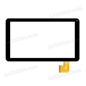 GT10D102 Digitizer Glass Touch Screen Replacement for 10.1 Inch MID Tablet PC