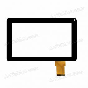 WJ387-V2.0 Digitizer Glass Touch Screen Replacement for 9 Inch MID Tablet PC