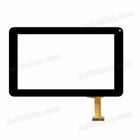 Replacement DH-0918A1-PG-FPC058-V3.0 (ZM926) (RX16*TX28) 0C SR Digitizer Touch Screen for 9 Inch Tablet PC