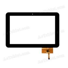 Replacement QSD E-C100013-05 LLT 1303 Digitizer Touch Screen for 10.1 Inch Tablet PC