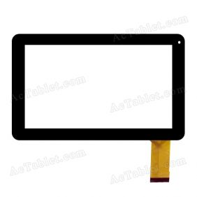 LS-FPC0900MG11B Digitizer Glass Touch Screen Replacement for 9 Inch MID Tablet PC