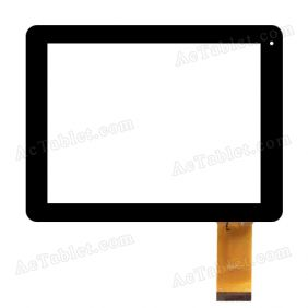 MF-397-080F FPC 20130504 TRX Digitizer Glass Touch Screen Replacement for 8 Inch MID Tablet PC