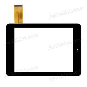 MJK-0136(13.7.9) YF Digitizer Glass Touch Screen Replacement for 8 Inch MID Tablet PC