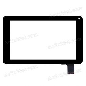 WJ592-V1.0 WJ592--V1.0 Digitizer Glass Touch Screen Replacement for 7 Inch MID Tablet PC