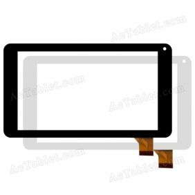 "Digitizer Touch Screen Replacement for PendoPad 7"" PNDPP44QLT7 Quad Core 7 Inch Tablet PC"