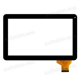 Replacement AD-C-101664-FPC ZJX Digitizer Touch Screen for 10.1 Inch Tablet PC