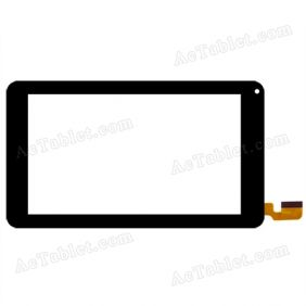 MJK-0258 Digitizer Glass Touch Screen Replacement for 7 Inch MID Tablet PC
