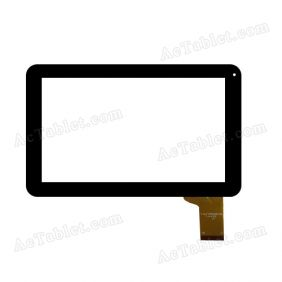 Replacement SF 2013-6-1 GM108A090G_FPC-1 Digitizer Touch Screen for 9 Inch Tablet PC