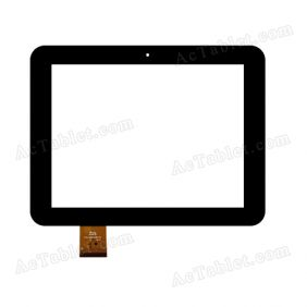 YTG-G97035-F1 Digitizer Glass Touch Screen Replacement for 9.7 Inch MID Tablet PC
