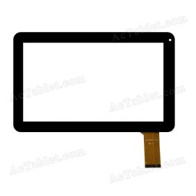 Replacement MGLCTP-182 2013.07.23 Digitizer Touch Screen for 10.1 Inch Tablet PC