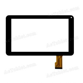 YCF0672-A Digitizer Glass Touch Screen Replacement for 9 Inch MID Tablet PC