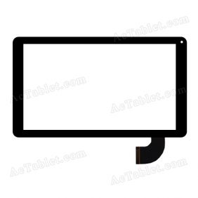 C145254B1-DRFPC253T-V1.0 Digitizer Glass Touch Screen Replacement for 10.1 Inch Tablet PC