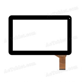 YTG-P10022-F1 V1.0 Digitizer Glass Touch Screen Replacement for 10.1 Inch MID Tablet PC