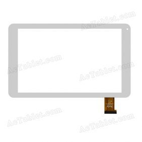 YTG-G10057-F1 V1.0 Digitizer Glass Touch Screen Replacement for 10.1 Inch MID Tablet PC