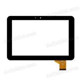 YTG-P10008-F11 V1.1 Digitizer Glass Touch Screen Replacement for 10.1 Inch MID Tablet PC