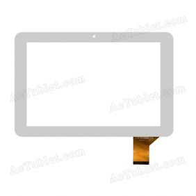 YTG-P10005-F9 V1.1 Digitizer Glass Touch Screen Replacement for 10.1 Inch MID Tablet PC