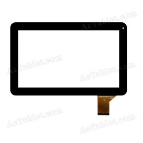 YTG-P10007-F11 V1.0 Digitizer Glass Touch Screen Replacement for 10.1 Inch MID Tablet PC