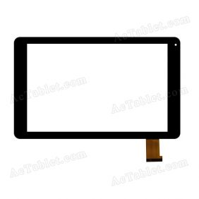 VTC5010A33-FPC-2.0 Digitizer Glass Touch Screen Replacement for 10.1 Inch MID Tablet PC