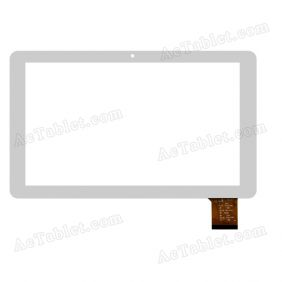 MF-707-101F CTP274-070-A V1.0 FHX Digitizer Touch Screen Replacement for 10.1 Inch Tablet PC