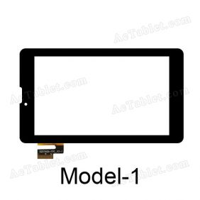 SG5740A-FPC_V5-1 Digitizer Glass Touch Screen Replacement for 7 Inch MID Tablet PC